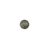 Steel Gray Silver Foil 6mm Round Venetian Glass Bbead