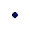Cobalt Blue Silver Foil 6mm Round Venetian Glass Bead