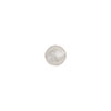 Clear Silver Foil 6mm Round Murano Glass Bead