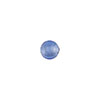 Blue Silver Foil 6mm Round Venetian Glass Bead