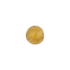 Gaggia (Amber) 8mm Gold Foil Round Murano Glass Bead
