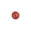 Rubino Pink 8mm Gold Foil Round Venetian Glass Bead