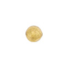 Clear 8mm Gold Foil Round Venetian Glass Bead