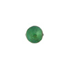 Verde Marino 8mm Gold Foil Round Murano Glass Bad