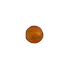Topaz 8mm Gold Foil Round Murano Glass Bead