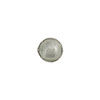 Light Steel Silver Foil 8mm Round Murano Glass Bead