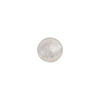 Clear Silver Foil 8mm Round Murano Glass Bead