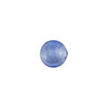 Blue Silver Foil 8mm Round Murano Glass Bead