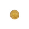 Gaggia Amber 10mm Gold Foil Round, Murano Glass Bead