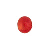 Orange 10mm Gold Foil Round, Murano Glass Bead