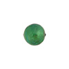 Verde Marino 10mm Gold Foil Round, Murano Glass Bead