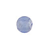 Light Blue Silver Foil 10mm Round Murano Glass Bead