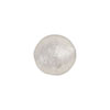 Clear Silver Foil Round 12mm Murano Glass Bead