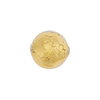 Clear 14mm Gold Foil Round Venetian Glass Bead