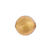 Pink (Rosa) 14mm Gold Foil Round