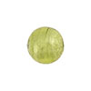 Peridot Venetian Beads Silver Foil 14mm, Murano Glass Bead