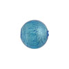 Light Aqua Venetian Beads Silver Foil 14mm