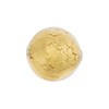 Crystal Gold Foil 16mm Round Venetian Beads