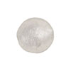 Clear Silver Foil Round 16mm Murano Glass Bead