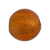Topaz Gold Venetian Beads Gold 20mm Round