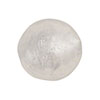 Clear Silver Foil Round 20mm, Murano Glass Bead