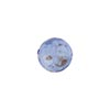 Murano Glass Aventurina Sommerso Bead, Blue, 10mm