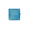 Aqua Square White Gold 14mm, Venetian Glass Bead