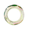 Swarovski 4139 Cosmic Ring, 14mm, Crystal Luminous Green