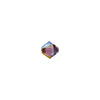 Swarovski 5328 XILION Faceted Bicone, 3mm, Crystal Lilac Shadow