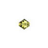 Swarovski 5328 XILION Faceted Bicone, 4mm, Lime Green