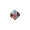 Swarovski 5328 XILION Faceted Bicone, 6mm, Crystal Lilac Shadow
