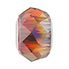 Swarovski 5948 BeCharmed Briolette, Crystal Red Magma, 4.5mm Hole