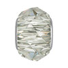 Swarovski 5948 BeCharmed Briolette, Crystal Silver Shade, 4.5mm Hole