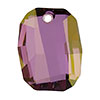 Swarovski 6685 Graphic Pendant, 19mm, Crystal Lilac Shadow