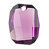 Swarovski 6685 Graphic Pendant, 19mm, Light Amethyst