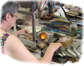 Murano Glass Bead Making