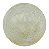Blown Murano Glass Round Gold Foil 20mm, Clear and Gold