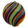 Murano Glass Bead Mouth Blown Carnevale Penny 20mm
