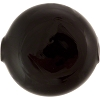 Venetian Blown Bead 55mm Flat Disc, Opaque Black