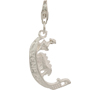 Gondola Sterling Silver Dangling Charm with Trigger Clasp