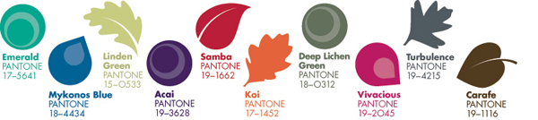 Fall 2013 Pantone Color Projections