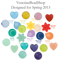 Exclusively at VenetianBeadShop - Spring Colors Designed to Match