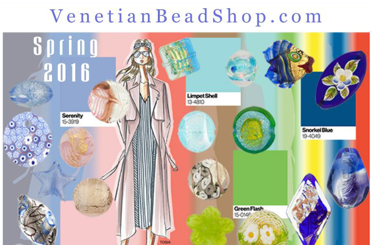 VenetianBeadShop Selected Beads for Spring 2016