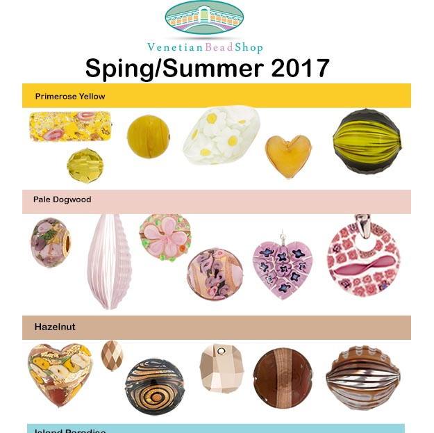 Spring 2017 Color Suggestions