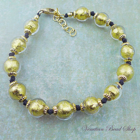Make this Knotted Venetian Classic Bracelet