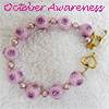 October Awareness Pink Bracelet
