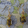 Ca'd'Oro Cobalt Cube Earrings