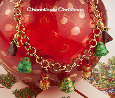Over the Top Christmas Necklace