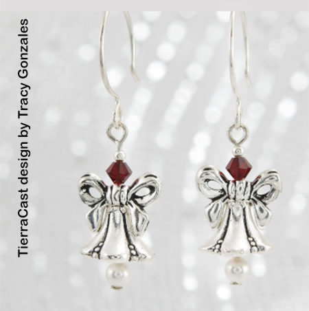 Bells and Bows Easy Earrings
