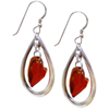 Devoted 2 U Heart Earrings